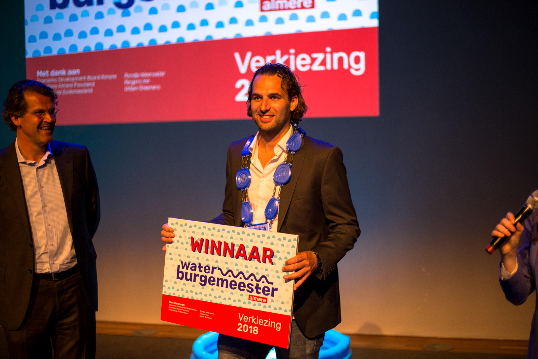 uitreiking waterburgemeester Almere 2018